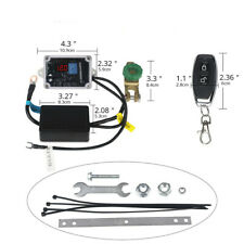 12V Wireless Dual Remote Control Car Master Battery Disconnect Switch Isolator
