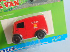 Vintage 1999 ERTL THOMAS THE TANK & FRIENDS red SODOR MAIL VAN in blister card
