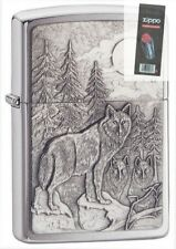 Zippo 20855 timberwolves Lighter + FLINT PACK