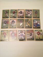 2006 bowman gold football complete set 1- 275