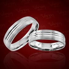 2 Silber Trauringe mit Gravur Eheringe Verlobungsringe Freundschaftsringe pr42