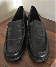 Women's Leather Shoes - Pre-owned - Black - Size 7 - Nine West