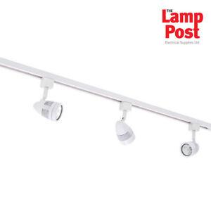Robus Acorn WHITE Ceiling Track light KIT - For Kitchens etc - R888GZ3-01