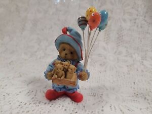 Cherished Teddies Clown Balloons Donavon CT0016 2009 Symbol of Membearship