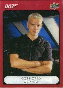 James Bond Villains & Henchmen Acetate Base Card #92 Stamper
