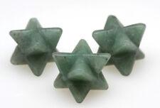 AVENTURINE MERKABA Star Carving Mineral Gemstone Crystal Healing Sacred Geometry