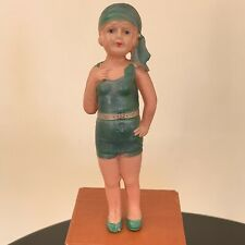 Vintage 1930s Celluloid Bathing Beauty Doll Made In Japan