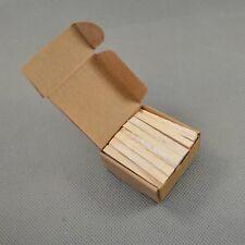 NEW 50pcs Triangular Balsa Wood 6mm Filter Insert For Tobacco Smoking pipe