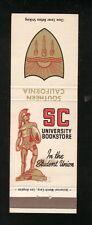 USC Trojans--1965 Football Matchbook Cover Schedule--SC University Bookstore