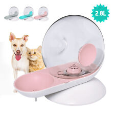 2.8L Automatic Pet Fountain Watering Drink Bowl Dog Cat Water Dsipenser W/Filter