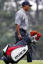 """Tiger Woods BUICK """"TIGER SLAM"""" Signed Staff Bag for a Collectors Extremely Rare!"""