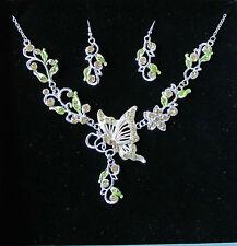 Rhinestone Enamel Costume Jewellery Sets