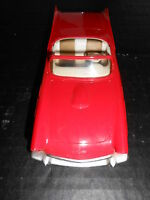 1957 Ford Thunderbird Red  2 door convertible friction promo car