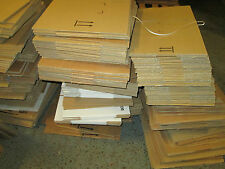 100  x mixed sizes CARDBOARD BOXES PACKAGING  POSTAL BUNDLE OF BOXES  . JOBLOTS