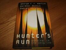 GEORGE R R MARTIN-HUNTERS RUN-1ST-2007-HB-NF-HARPER VOYAGER