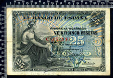 Espagne / 25 Pesetas 1906 / TB