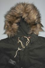 NWT Mens XL Abercrombie & Fitch B-9 Parka US Army Inspired Green MSRP $260