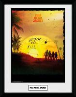 Full Metal Jacket 1987 Born To Kill Collector Print Frame Poster Bild Rahmen