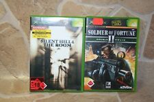 SILENT HILL 4 THE ROOM (* FP *) + Solide of Fortune 2 Dobble HELIX Pour XBOX Classic