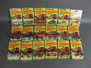 18 NEW Vintage 1976 Lesney Matchbox Superfast Die-Cast Car Lot Transporter VW NR