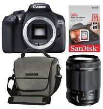 Canon EOS 1300D + Zubehörpaket: 18-200 VC + 32GB + Tasche ! + 25 € Cashback