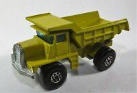 Matchbox Superfast No 28 Mack Dump Truck Cast Steps Diecast Model Vehicle B13