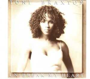 Toni Braxton - Un-Break My Heart - CDS - 1996 - Ballad RnB 2TR Cardsleeve