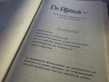"Seltener Druck ""Der Offsetdruck"" 1940 Manuskript Unikat Kunstgeschichte rar"