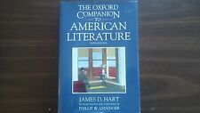 The Oxford Companion to American Literature, Sixth Edition, James D. Hart 1995