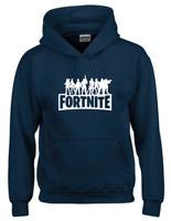 Garçons Filles Enfants Gamer Minecraft Fortnite Pull à Capuche Sweat à capuche Sweat Taille 6-16 Ans