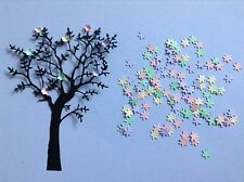 6 Grand Oak Memory box tree with 100 mini flowers **FREE UK POSTAGE**
