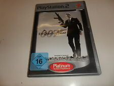 PlayStation 2  PS 2  007 Ein Quantum Trost