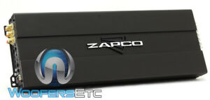 ZAPCO ST-6X SQ 6-CHANNEL SOUND QUALITY COMPONENT SPEAKERS TWEETERS AMPLIFIER NEW