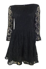 Round Neck 3/4 Sleeve Topshop Cotton Dresses for Women