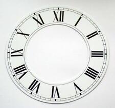 Orologio Bianco capitolo Anello Numeri Romani Dial 103mm ALLUMINIO Dial CLOCK NUOVO
