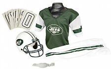 New York Jets Youth Jersey Small Uniform Set NFL Kids Football Helmet Costume