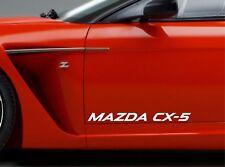 Door Sticker Fits Mazda CX-5 Side Vinyl Decals Premium Qaulity RT42