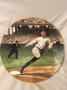 TY COBB THE GEORGIA PEACH LEGENDS OF BASEBALL DELPHI LIMITED EDITION PLATE T206