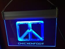 Chickenfoot Sign, Lighted, Engraved