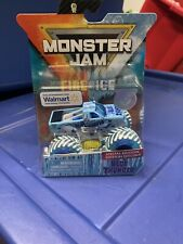 Monster Jam Blue Thunder Fire and Ice 2019 Walmart Exclusive Special Edition