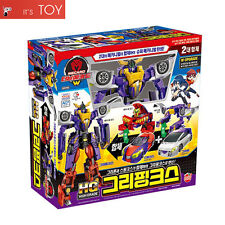 Turning Mecard W HG GRYPHINX Gryphon Spinx High Grade Transformer Robot Car Toy