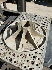 Aluminum Round Outrigger Pad Sauber Mfg Vh Inc