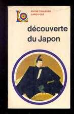 [Japon] M. HARDWICK Découverte du Japon, Larousse Poche Couleurs 26 1971