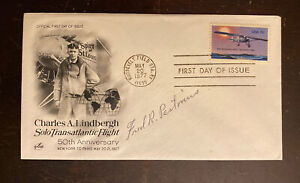 1977 FDC Signed By Early Airmail Pilot Fred Pastorius. 121-55