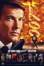 James Bond 007 (1996) original video poster - s-sided - rolled - Roger Moore