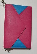 Blue Pink Clutch Purse - BINT