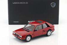 Lancia Delta s4 año de fabricación 1985 rojo 1:18 Autoart