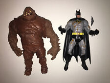 DC UNIVERSE CLASSICS BATMAN AND CLAYFACE Fists of Clay 2 Pack Loose Mattel
