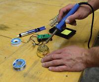 Soldering Iron 100W UK Mains Temperature Welding Solder Automotive Hand Tool DIY
