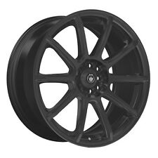 4-NEW Konig 45B Control 15x6.5 5x100/5x114.3 114.3 Black Wheels Rims